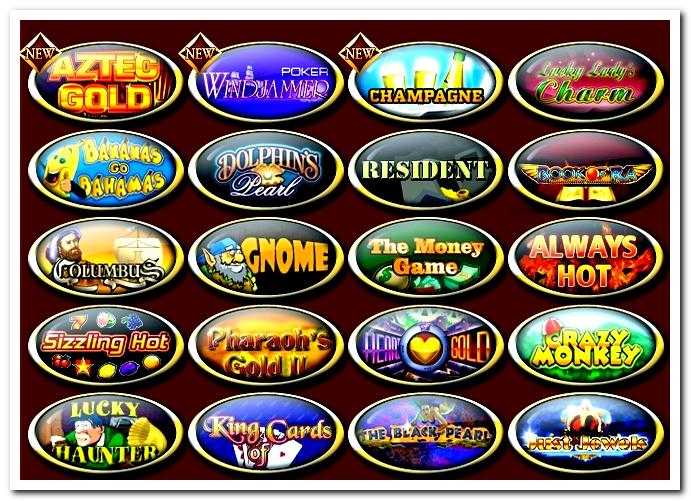 Игры казино Джек Пот